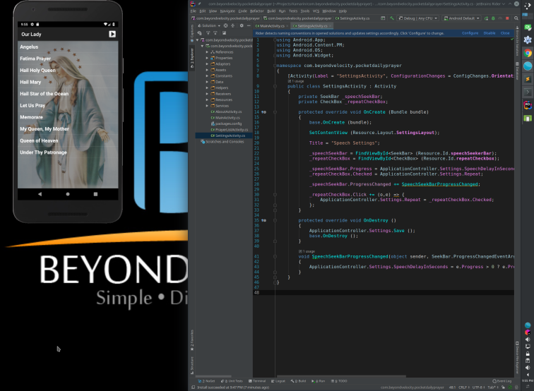 Xamarin Android on Linux – Beyond Velocity